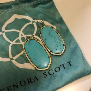 Kendra Scott Danielle Gold Drop Earring